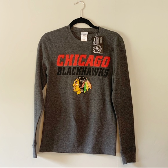 Old Navy Other - NHL Chicago Blackhawks Grey Long Sleeve Thermal